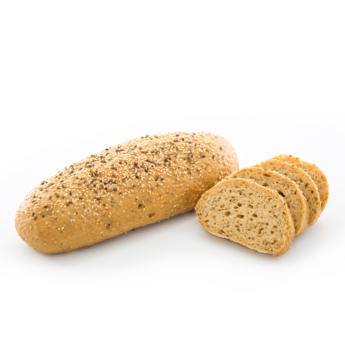 Glutensiz Esmer Bol Tahıllı Baton Ekmek