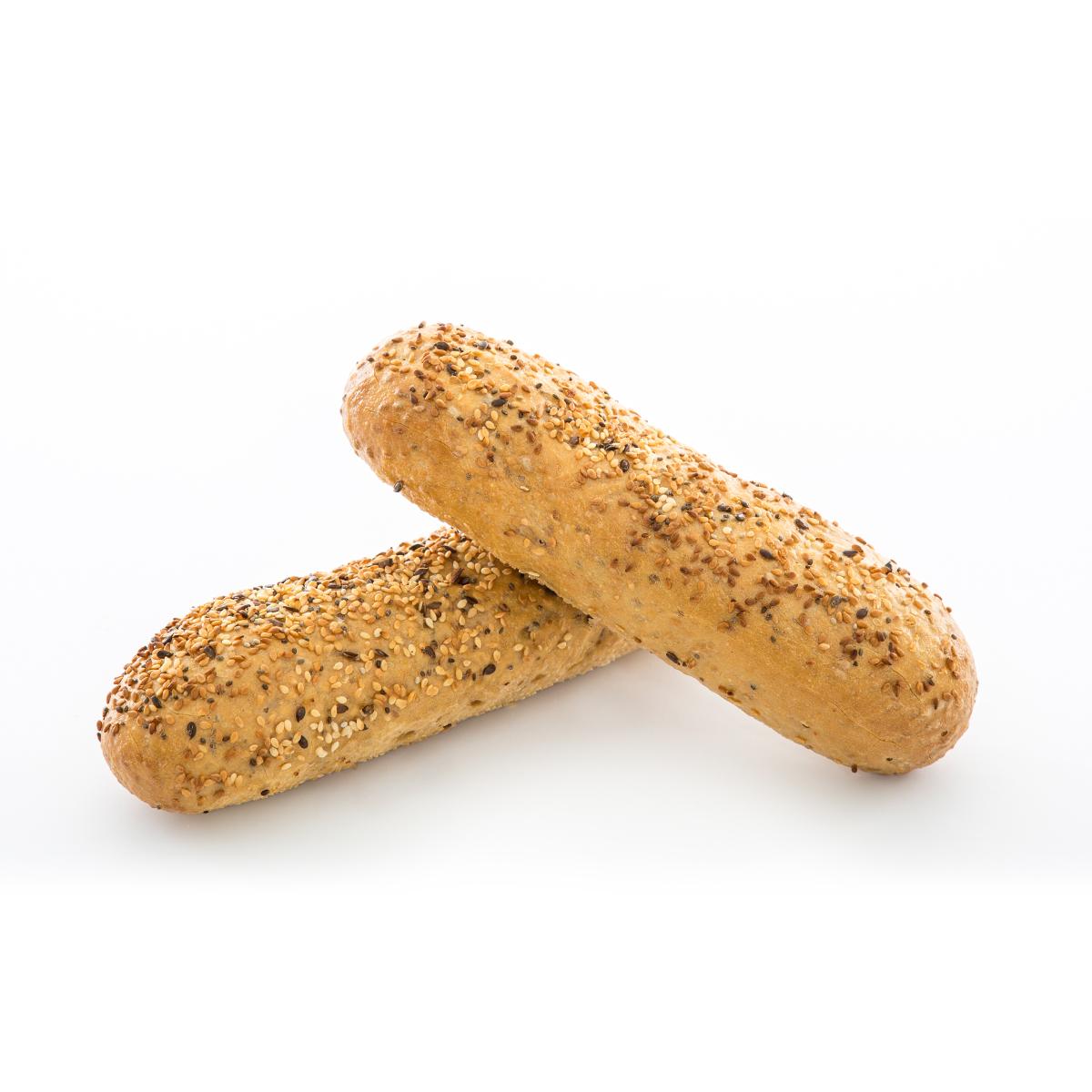 Glutensiz Esmer Bol Tahıllı Baget Ekmek