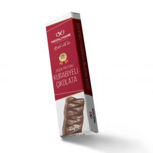 Mayalı Hane Düşük Proteinli Kurabiyeli Çikolata 35 gr