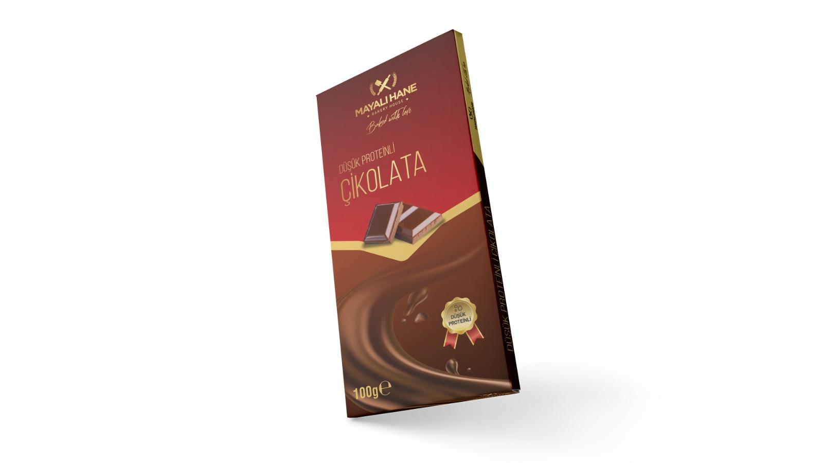 Mayalı Hane Düşük Proteinli Tablet Çikolata 100 gr