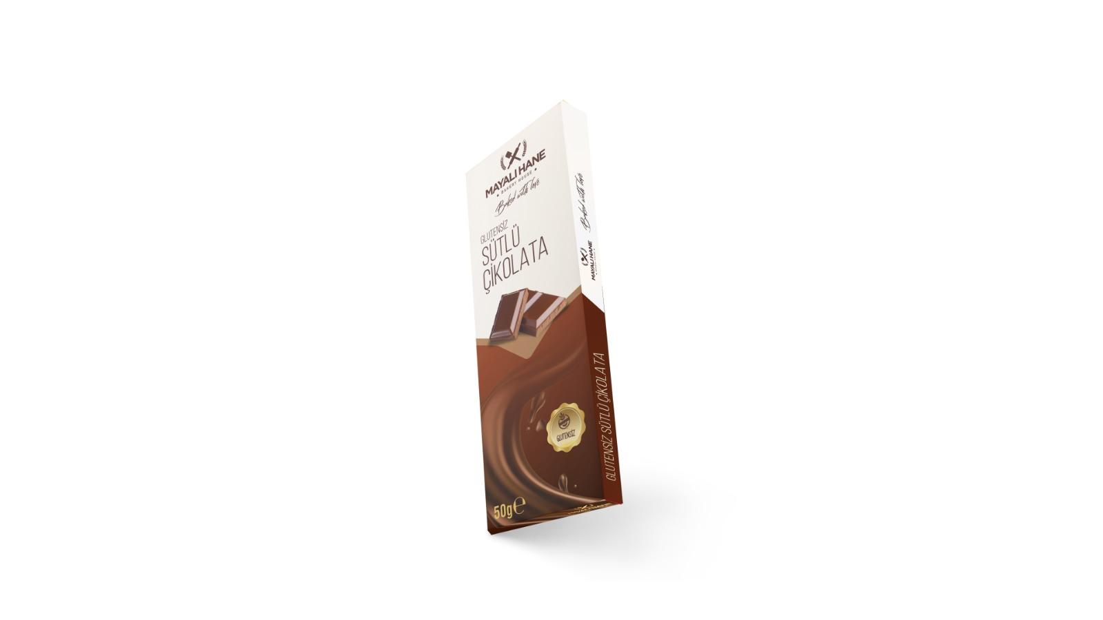 Mayalı Hane Glutensiz Tablet Çikolata 50 gr